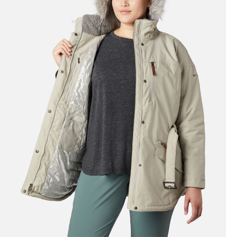 Carson Pass™ II Jacket | 029 | 2X Women's Carson Pass™ II Jacket - Plus Size, Flint Grey, a3