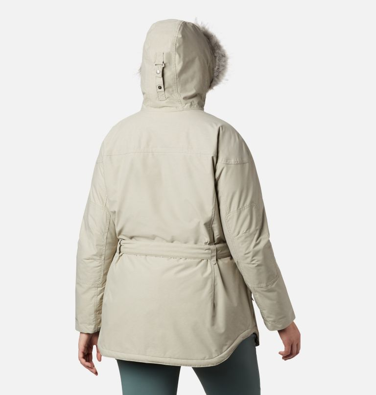 Carson Pass™ II Jacket | 029 | 2X Women's Carson Pass™ II Jacket - Plus Size, Flint Grey, back