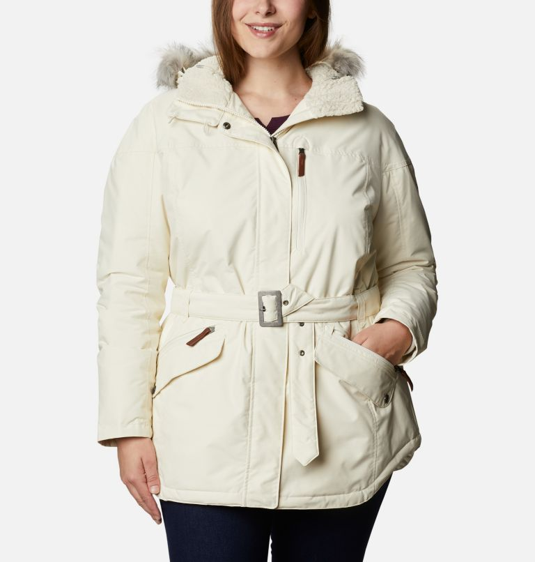 Carson Pass™ II Jacket | 191 | 1X Women's Carson Pass™ II Jacket - Plus Size, Chalk, front