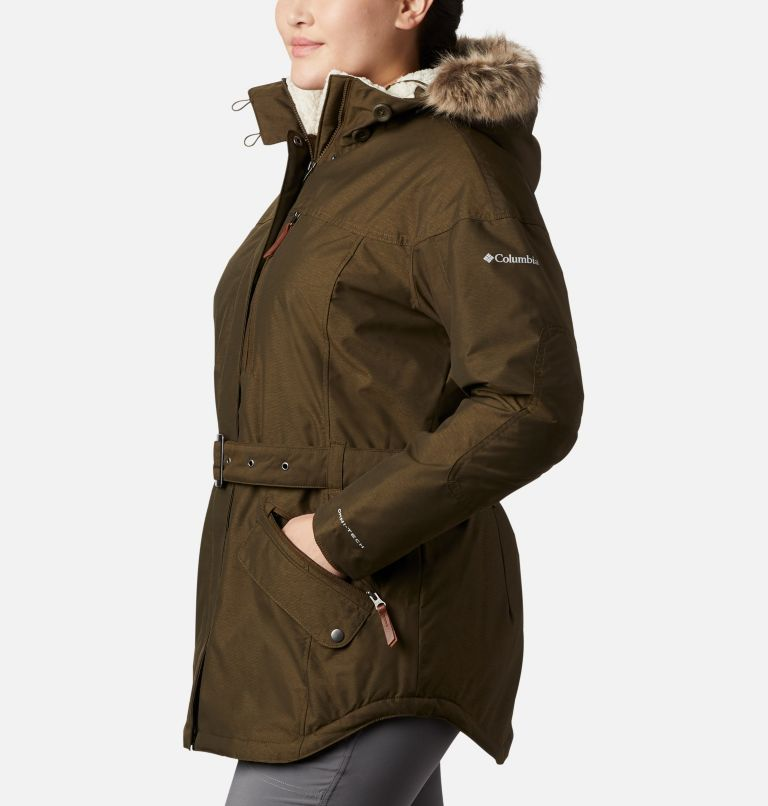 Carson Pass™ II Jacket | 319 | 1X Women's Carson Pass™ II Jacket - Plus Size, Olive Green, a1