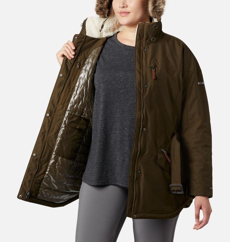 Carson Pass™ II Jacket | 319 | 1X Women's Carson Pass™ II Jacket - Plus Size, Olive Green, a3