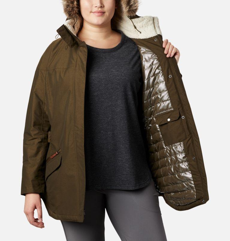 Carson Pass™ II Jacket | 319 | 1X Women's Carson Pass™ II Jacket - Plus Size, Olive Green, a4