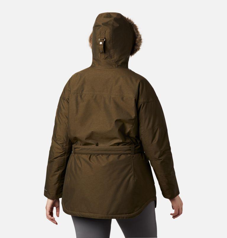 Carson Pass™ II Jacket | 319 | 1X Women's Carson Pass™ II Jacket - Plus Size, Olive Green, back