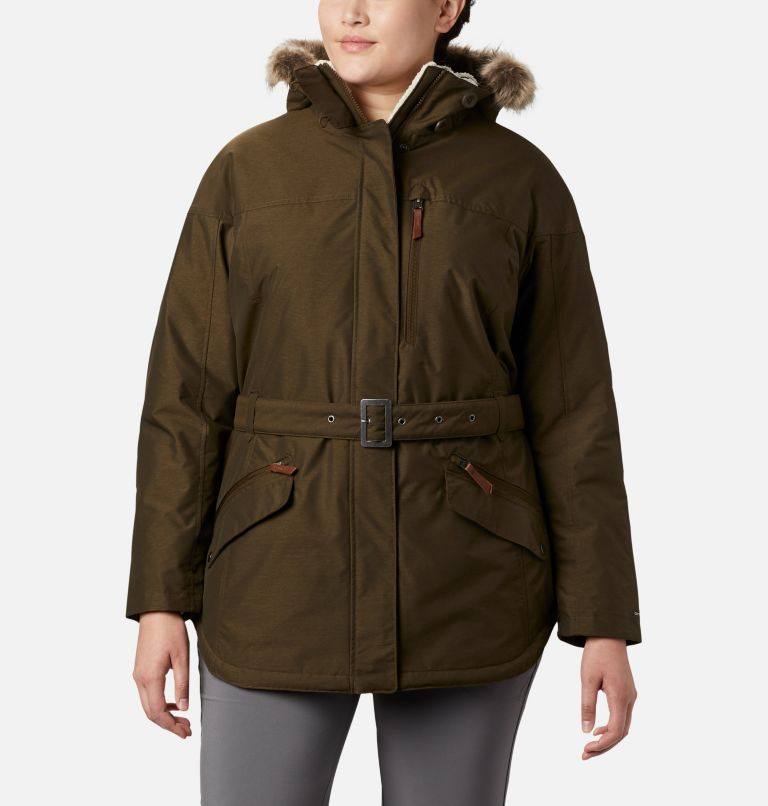 Carson Pass™ II Jacket | 319 | 1X Women's Carson Pass™ II Jacket - Plus Size, Olive Green, front