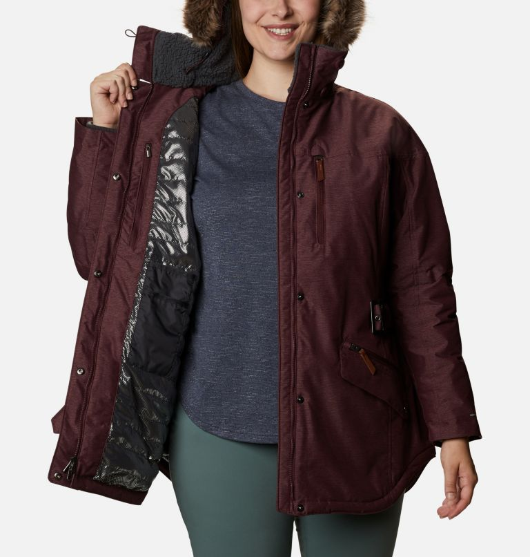 Carson Pass™ II Jacket | 671 | 1X Women's Carson Pass™ II Jacket - Plus Size, Malbec, a3