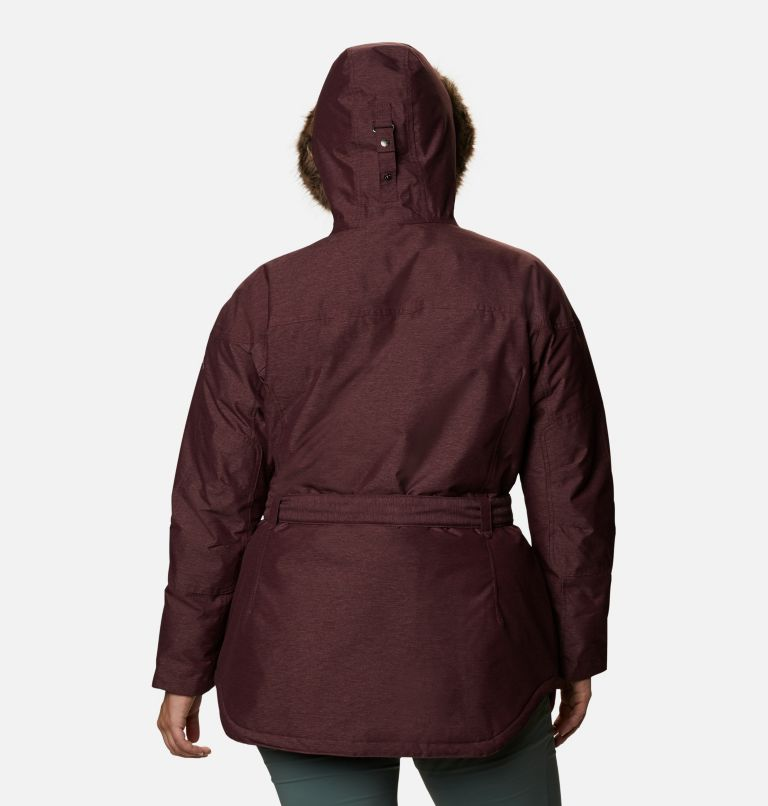 Carson Pass™ II Jacket | 671 | 3X Women's Carson Pass™ II Jacket - Plus Size, Malbec, back
