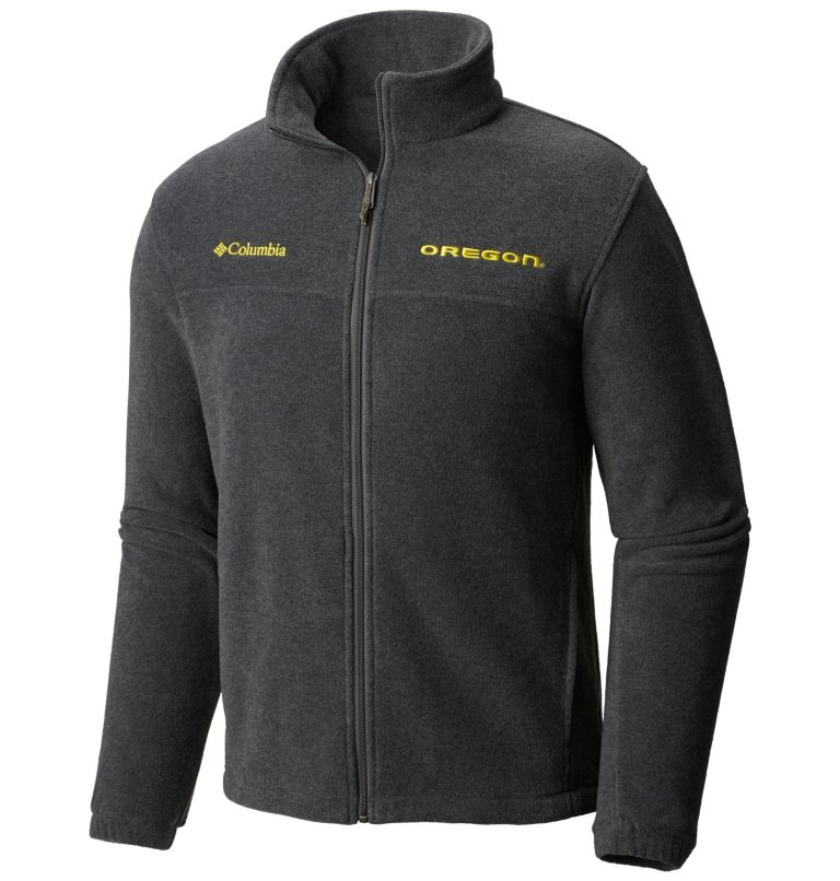 Men's Collegiate Flanker™ II Full-Zip Fleece - Oregon Men's Collegiate Flanker™ II Full-Zip Fleece - Oregon, front