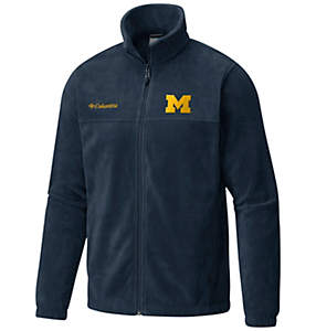 Men's Collegiate Flanker™ II Full-Zip Fleece - Michigan