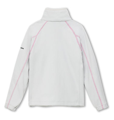 Fleece Fast Trek™ II Full Zip da ragazzo Fast Trek™ II Full Zip | 445 | L, Silver Grey, Pink Ice, back
