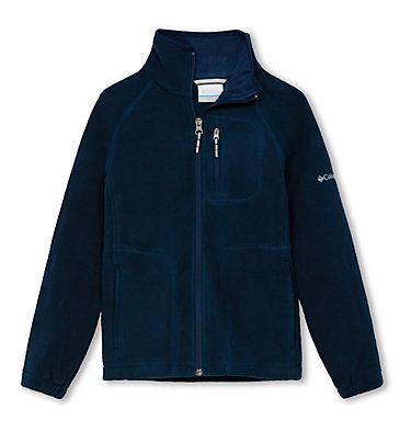 Fleece Fast Trek™ II Full Zip da ragazzo Fast Trek™ II Full Zip | 445 | L, Collegiate Navy, front