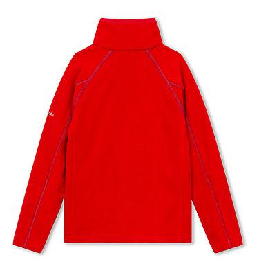 Fast Trek™ II Fleecejacke Junior Fast Trek™ II Full Zip | 623 | S, Mountain Red, Blue Heron, back