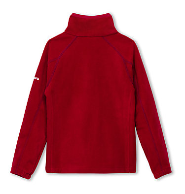 Fleece Fast Trek™ II Full Zip da ragazzo Fast Trek™ II Full Zip | 623 | S, Pomegranate, Nocturnal, back