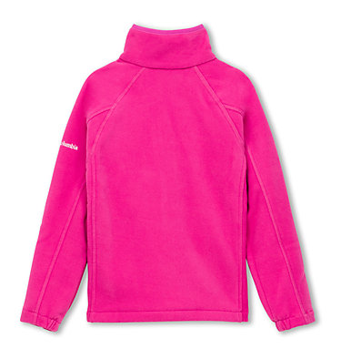 Youth Fast Trek™ II Full Zip Fleece Fast Trek™ II Full Zip | 623 | S, Pink Ice, back