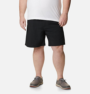 Men's PFG Backcast III™ Water Shorts - Big Backcast™ III Water Short | 374 | 3X, Black, front