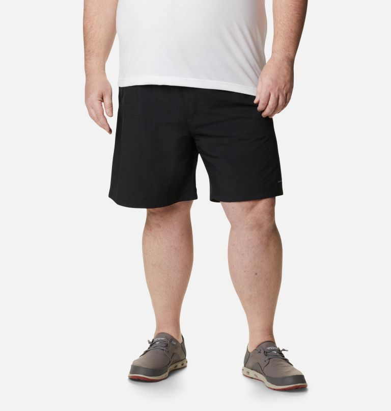 Backcast™ III Water Short | 010 | 1X Men's PFG Backcast III™ Water Shorts - Big, Black, front