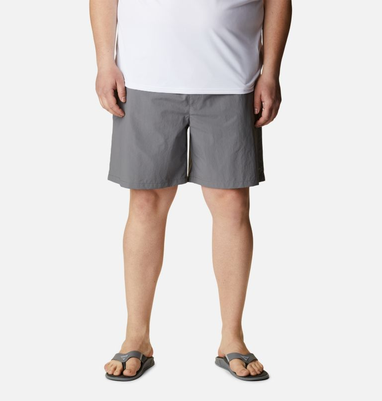 Backcast™ III Water Short   023   4X Men's PFG Backcast III™ Water Shorts - Big, City Grey, front