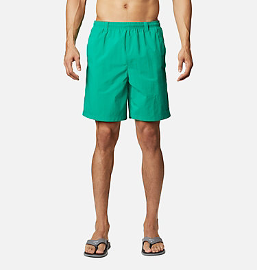 Men's PFG Backcast III™ Water Shorts - Big Backcast™ III Water Short | 374 | 3X, Emerald Green, front