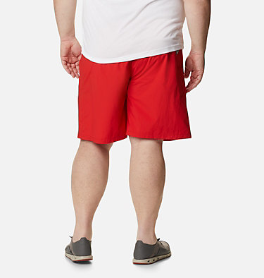 Men's PFG Backcast III™ Water Shorts - Big Backcast™ III Water Short | 374 | 3X, Red Spark, back