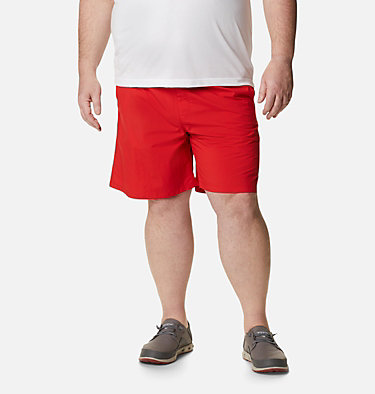 Men's PFG Backcast III™ Water Shorts - Big Backcast™ III Water Short | 374 | 3X, Red Spark, front