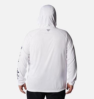 Men's PFG Terminal Tackle™ Hoodie - Big Terminal Tackle™ Hoodie   455   1X, White, Nightshade Logo, back