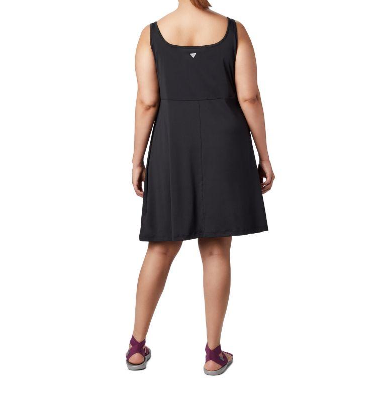 Freezer™ III Dress | 010 | 1X Women's PFG Freezer™ III Dress - Plus Size, Black, back