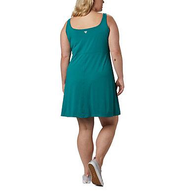 Women's PFG Freezer™ III Dress - Plus Size Freezer™ III Dress | 808 | 1X, Waterfall, back