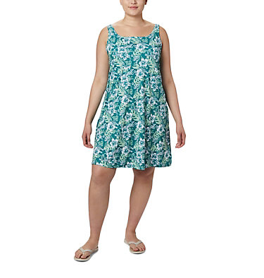 Robe PFG Freezer™ III pour femme - Grandes tailles Freezer™ III Dress | 474 | 1X, Waterfall Vacay Vibes Print, front