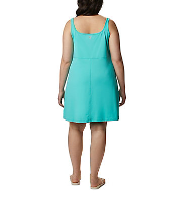 Women's PFG Freezer™ III Dress - Plus Size Freezer™ III Dress | 658 | 1X, Dolphin, back