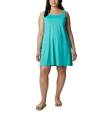 Women's PFG Freezer™ III Dress - Plus Size Freezer™ III Dress | 658 | 1X, Dolphin, front
