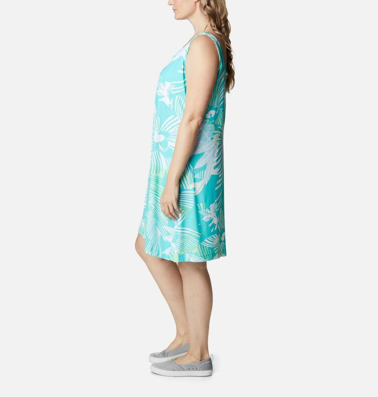 Freezer™ III Dress | 364 | 2X Women's PFG Freezer™ III Dress - Plus Size, Dolphin Stencil Hibiscus Print, a1