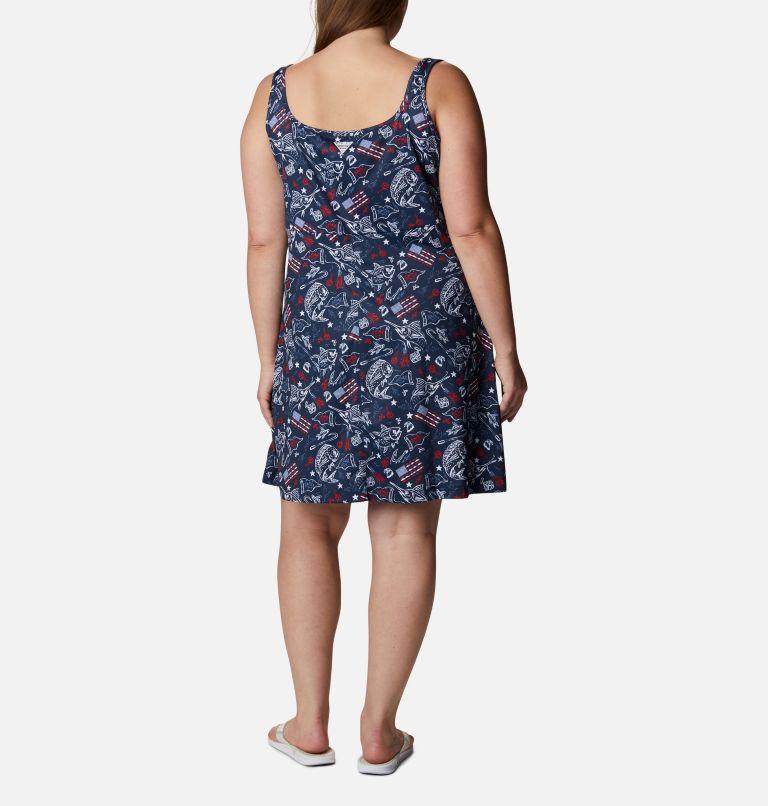 Women's Americana PFG Freezer™ III Dress - Plus Size Women's Americana PFG Freezer™ III Dress - Plus Size, back