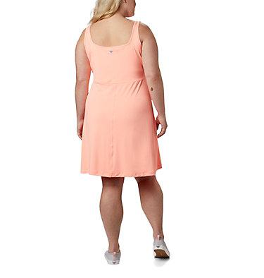 Women's PFG Freezer™ III Dress - Plus Size Freezer™ III Dress | 658 | 1X, Tiki Pink, back