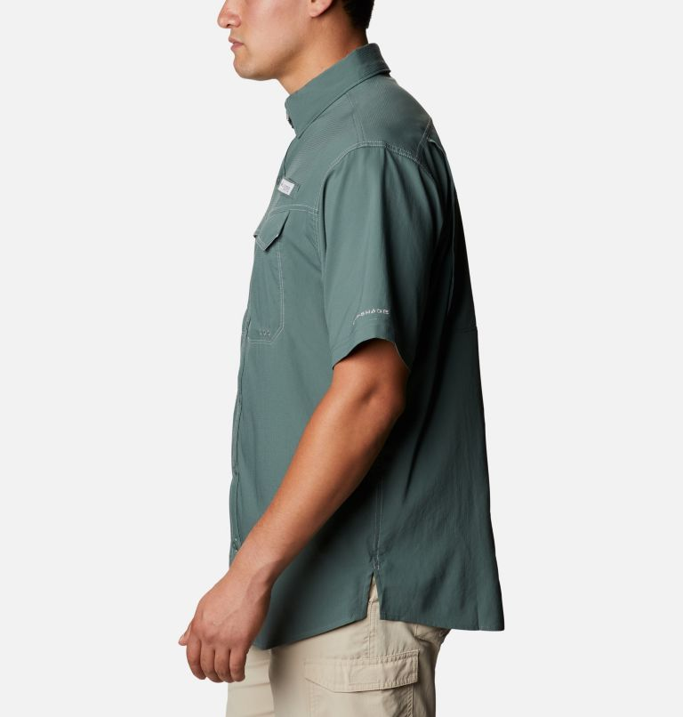 Low Drag Offshore™ SS Shirt | 967 | 4X Men's PFG Low Drag Offshore™ Short Sleeve Shirt - Big, Pond, a1