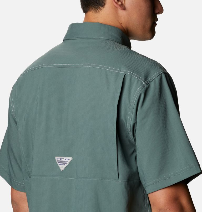 Low Drag Offshore™ SS Shirt | 967 | 4X Men's PFG Low Drag Offshore™ Short Sleeve Shirt - Big, Pond, a3