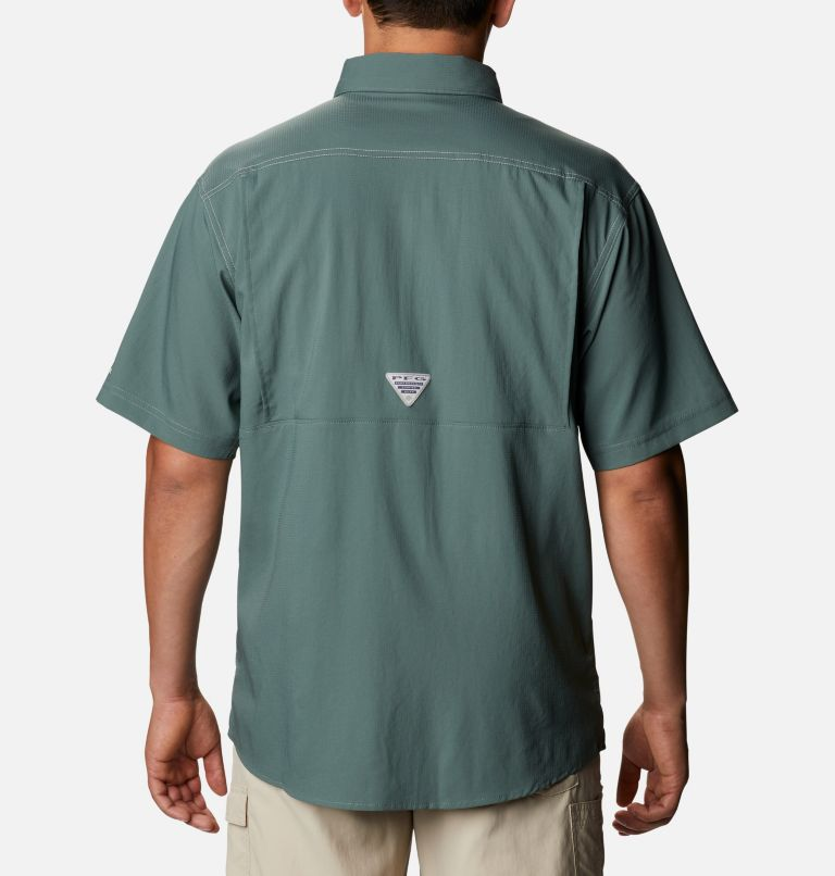 Low Drag Offshore™ SS Shirt | 967 | 4X Men's PFG Low Drag Offshore™ Short Sleeve Shirt - Big, Pond, back