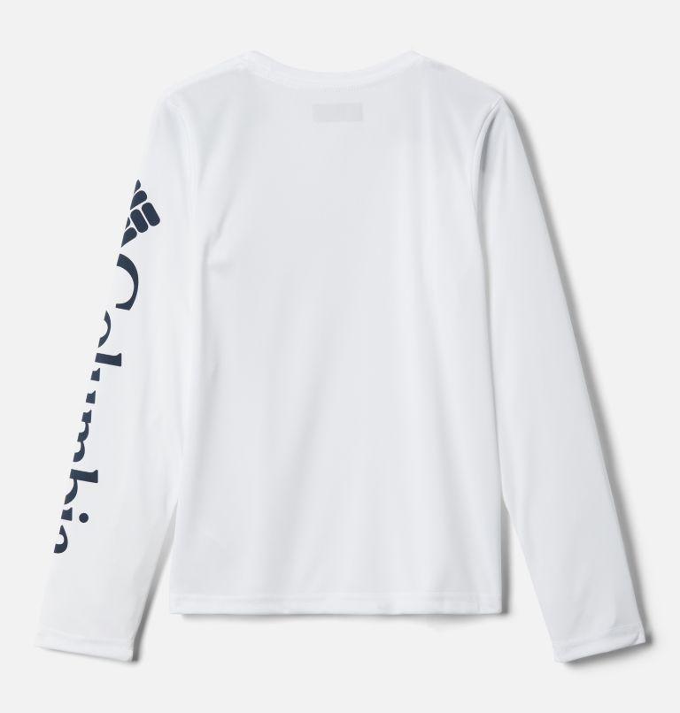 Terminal Tackle™ Long Sleeve Tee | 100 | XL Kids' PFG Terminal Tackle™ Long Sleeve Tee, White, back