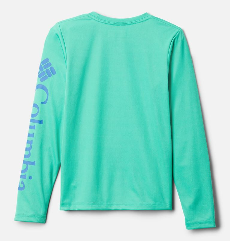 Terminal Tackle™ Long Sleeve Tee | 360 | XS Kids' PFG Terminal Tackle™ Long Sleeve Tee, Winter Green, back