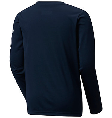 Kids' PFG Terminal Tackle™ Long Sleeve Tee Terminal Tackle™ Long Sleeve Tee | 100 | S, Collegiate Navy, back