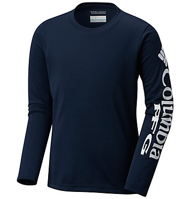 Kids' PFG Terminal Tackle™ Long Sleeve Tee Terminal Tackle™ Long Sleeve Tee | 100 | S, Collegiate Navy, front