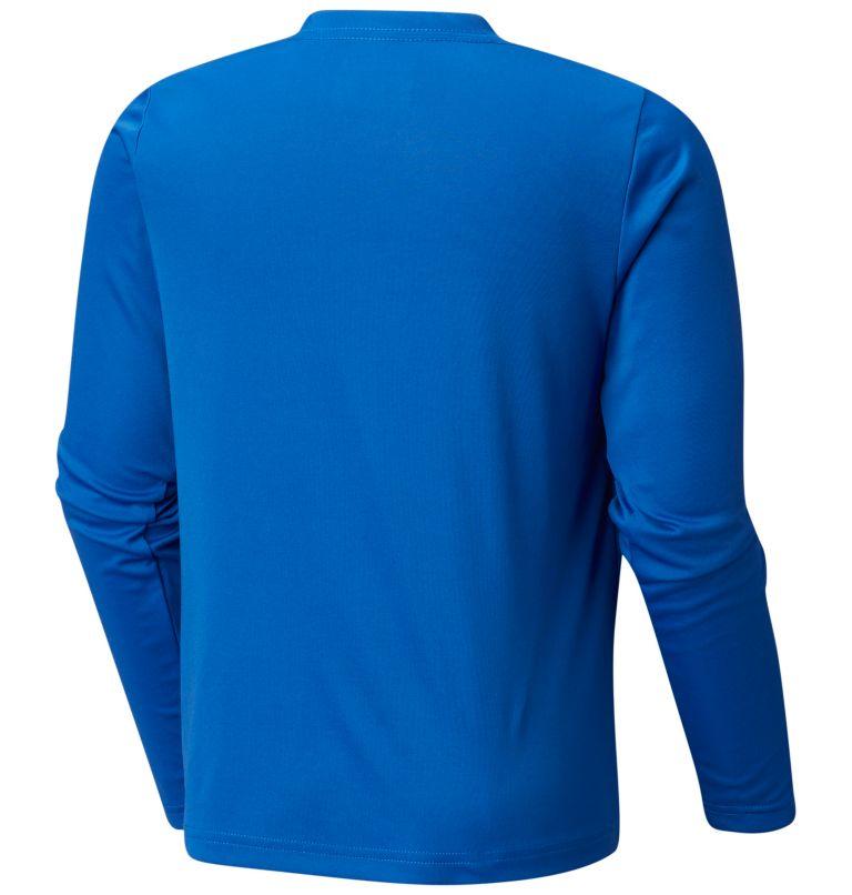 Terminal Tackle™ Long Sleeve Tee | 488 | M Kids' PFG Terminal Tackle™ Long Sleeve Tee, Vivid Blue, Cool Grey, back