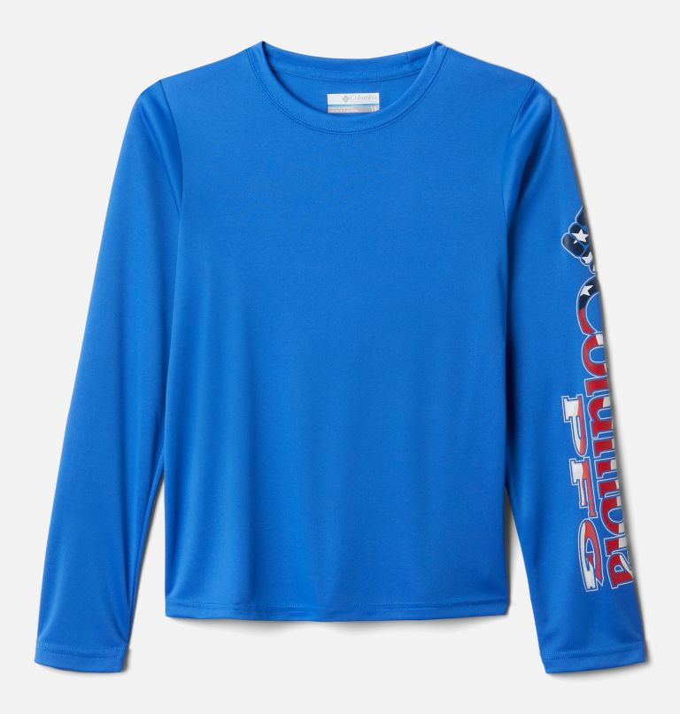 Kids' PFG Terminal Tackle™ Long Sleeve Tee Kids' PFG Terminal Tackle™ Long Sleeve Tee, front