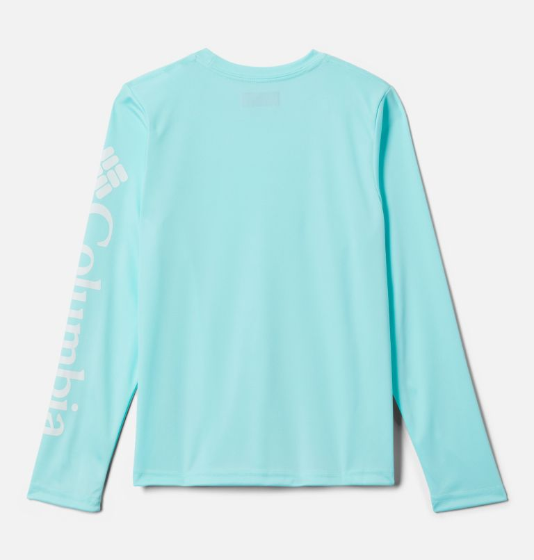 Terminal Tackle™ Long Sleeve Tee | 499 | L Kids' PFG Terminal Tackle™ Long Sleeve Tee, Gulf Stream, back