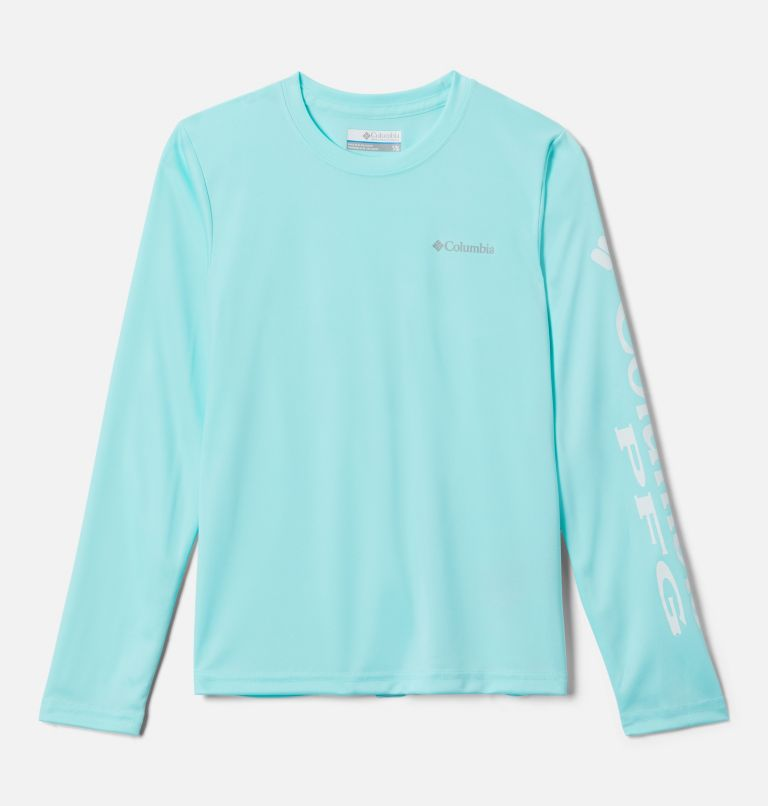 Terminal Tackle™ Long Sleeve Tee | 499 | L Kids' PFG Terminal Tackle™ Long Sleeve Tee, Gulf Stream, front