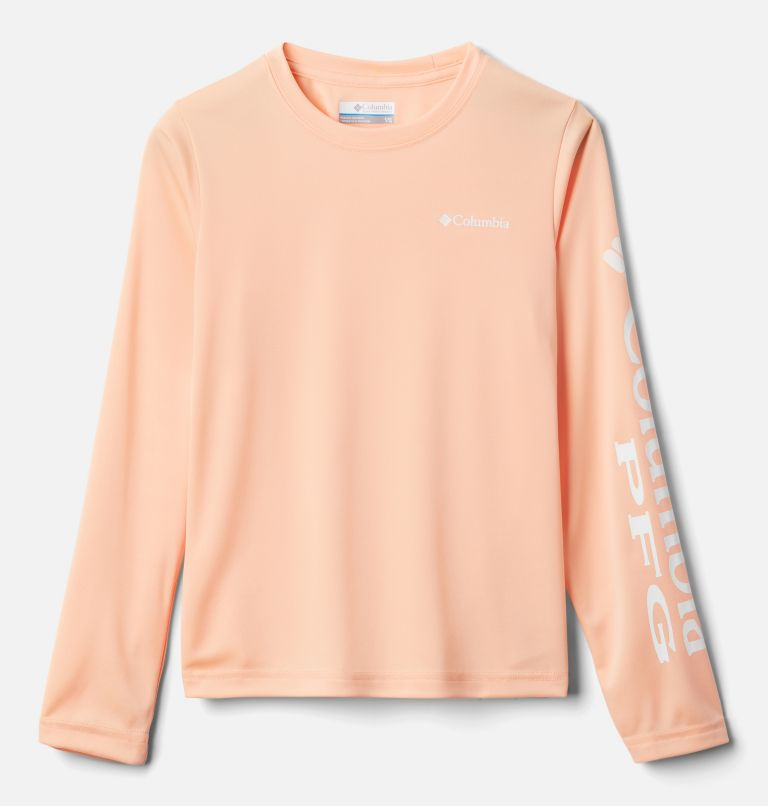 Terminal Tackle™ Long Sleeve Tee | 884 | M Kids' PFG Terminal Tackle™ Long Sleeve Tee, King Crab, front