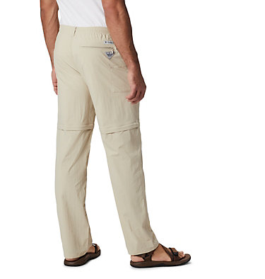 Men's PFG Backcast™ Convertible Pants Backcast™ Convertible Pant | 160 | S, Fossil, back