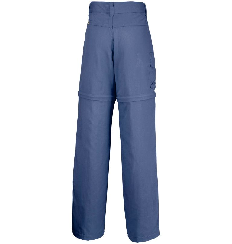 Silver Ridge™ III Convertible  | 591 | M Girls' Silver Ridge™ III Convertible Trousers, Nocturnal, back