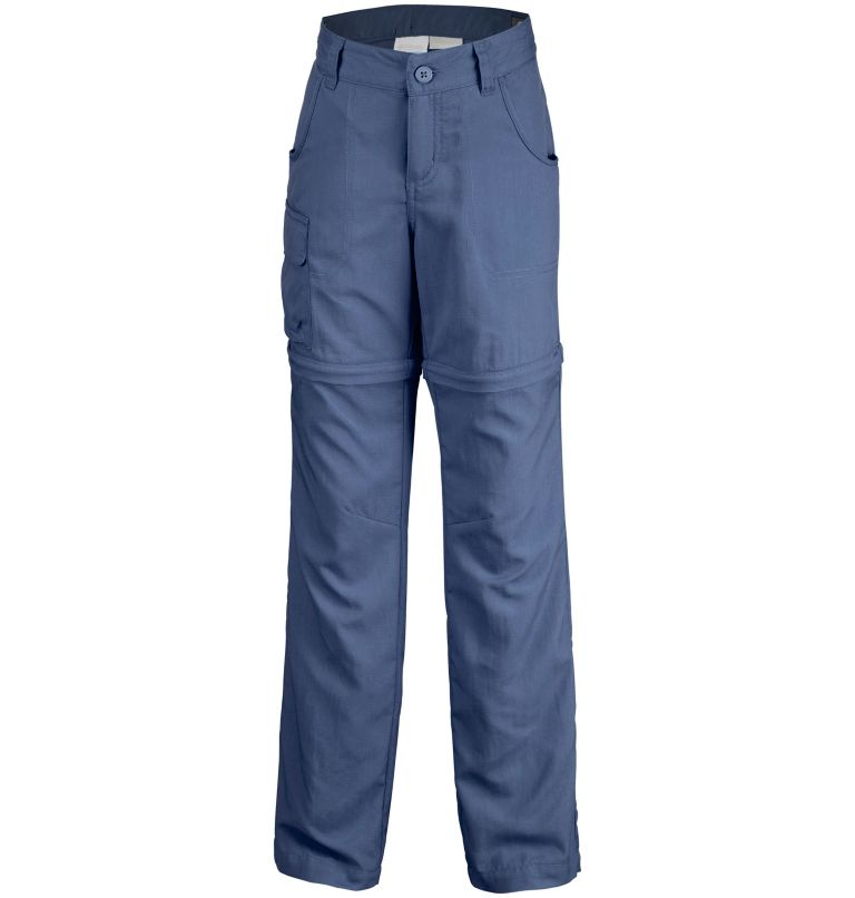 Silver Ridge™ III Convertible  | 591 | M Girls' Silver Ridge™ III Convertible Trousers, Nocturnal, front