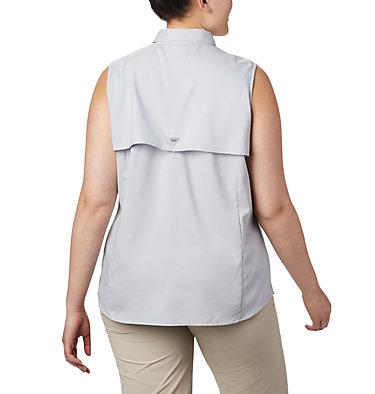 Women's PFG Tamiami™ Sleeveless Shirt - Plus Size Tamiami™ Women's Sleeveless Shirt | 305 | 2X, Cirrus Grey, back