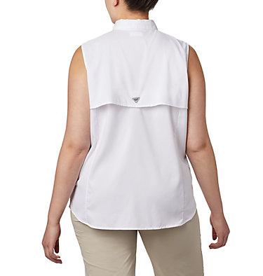 Women's PFG Tamiami™ Sleeveless Shirt - Plus Size Tamiami™ Women's Sleeveless Shirt | 305 | 2X, White, back