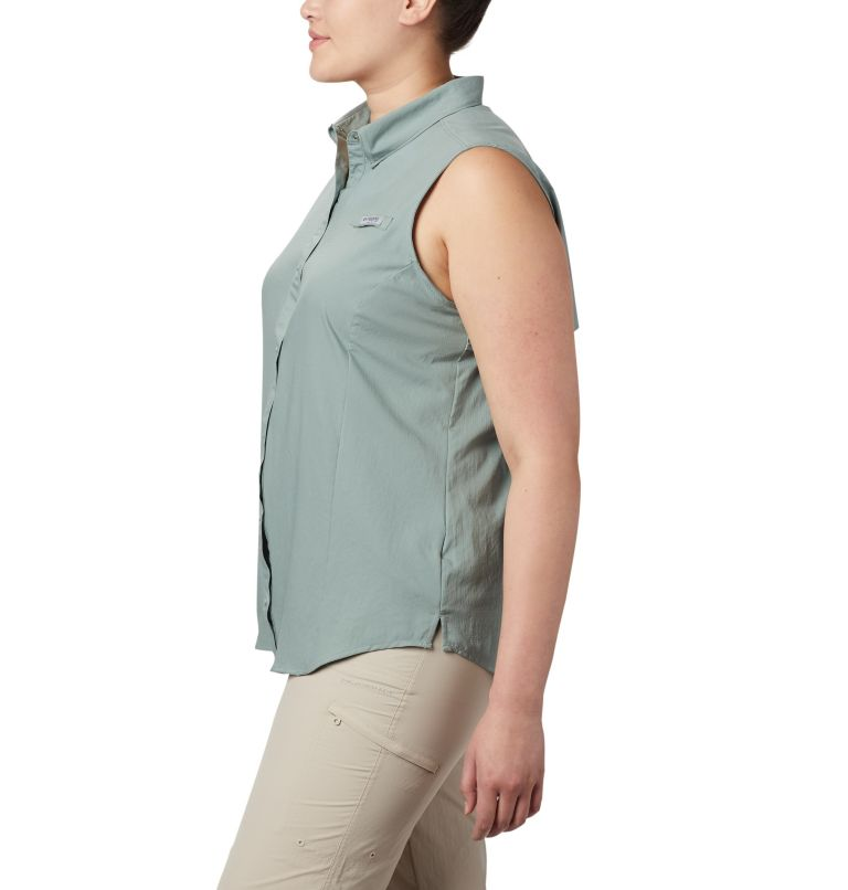Women's PFG Tamiami™ Sleeveless Shirt - Plus Size Women's PFG Tamiami™ Sleeveless Shirt - Plus Size, a1